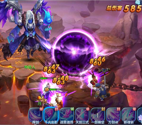 仙灵物语之仙魔战场